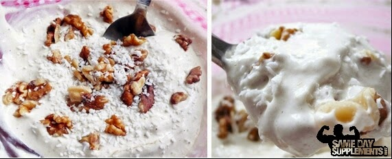 Banana Protein Fluff Recipe- High Protein Treat