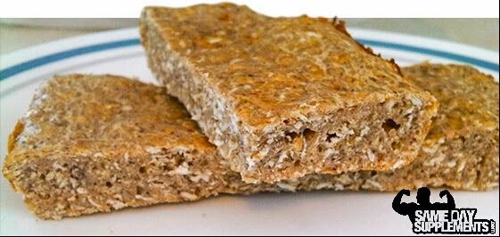 Egg White oatmeal protein bars