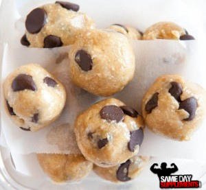 Cookie Dough Protein Balls Recipe