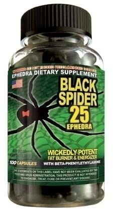 Black Spider Fat Burner