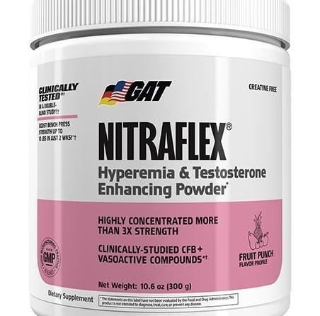 GAT Nitraflex Pre workout Review