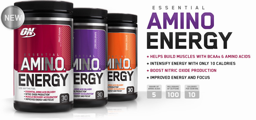Free Amino Energy Banner Deal