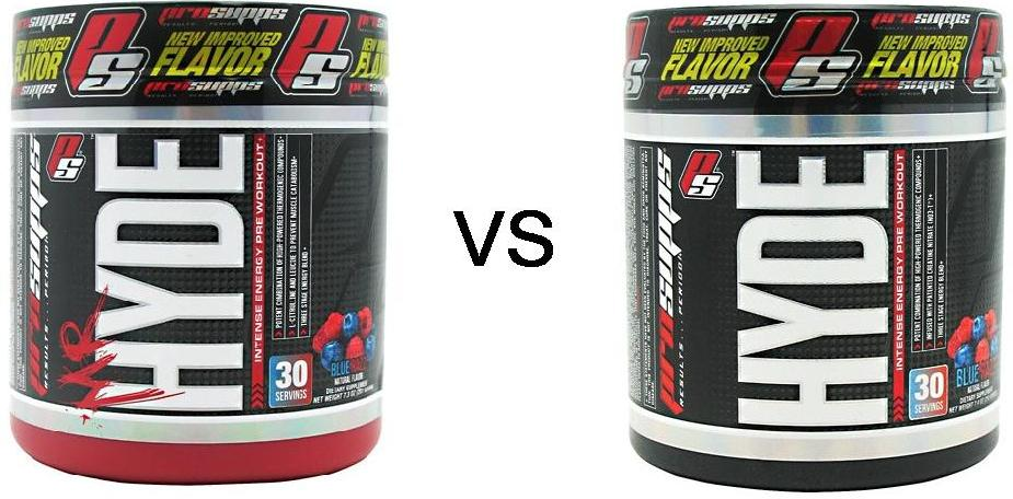 mr. hyde vs hyde pre workout