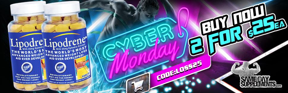 lipodrene cyber monday