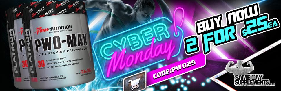 pwo max cyber monday