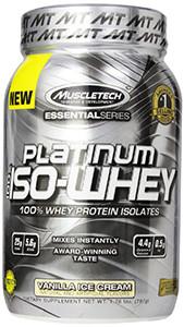 Muscletech Platinum Iso Whey