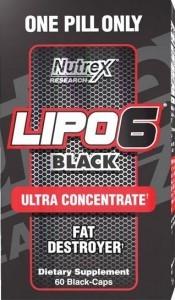 Best Fat Burners - Lipo 6 Black