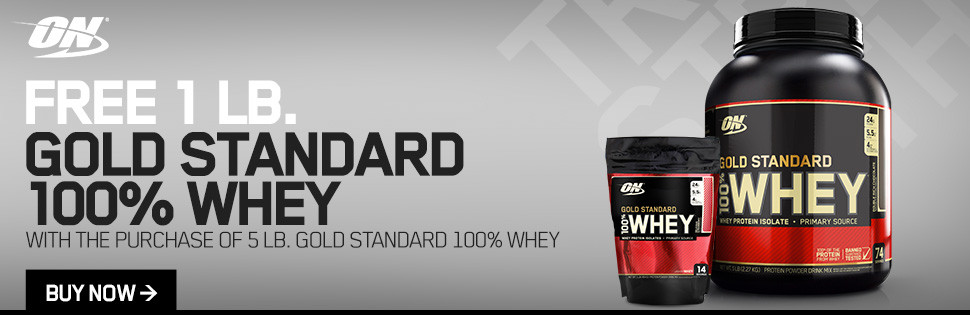 Gold Standard Whey Protein Deal