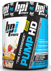 Pump HD Pre Workout