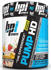 Pump HD Pre Workout