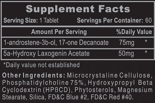 Hi-Tech 1-AD Supplement Facts