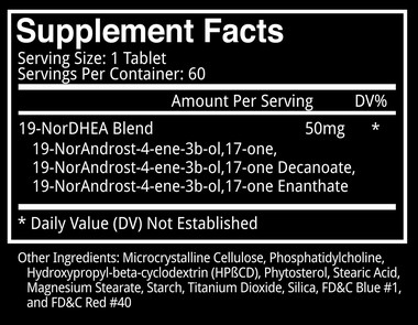 Blackstone Labs Abnormal Supplement Facts