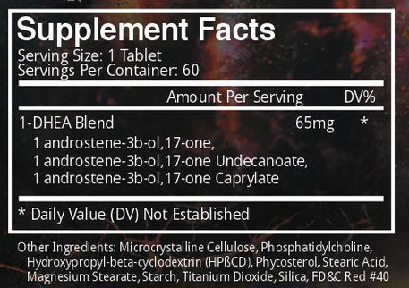 Chosen 1 Supplement Facts