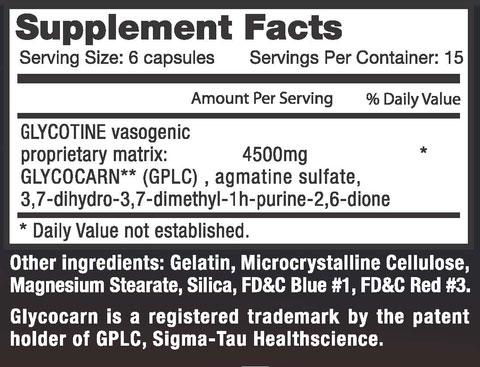 Nitrozine Supplement Facts