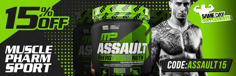 ASSAULT SPORT 15% OFF DEAL