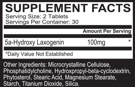 laxozome max label