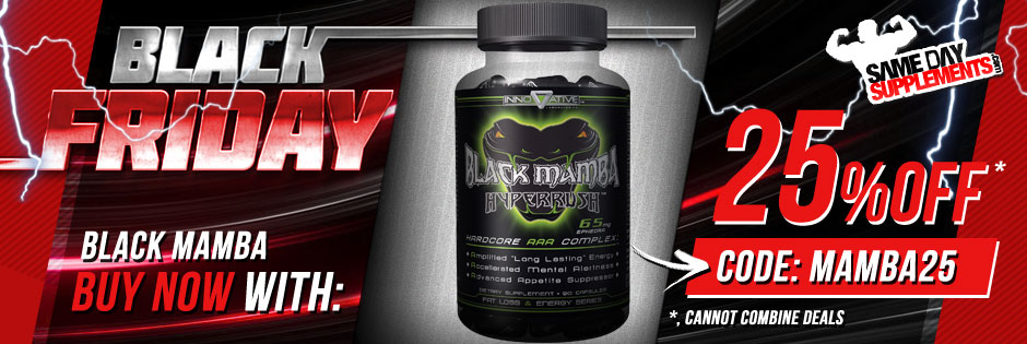 BLACK MAMBA FAT BURNER BANNER