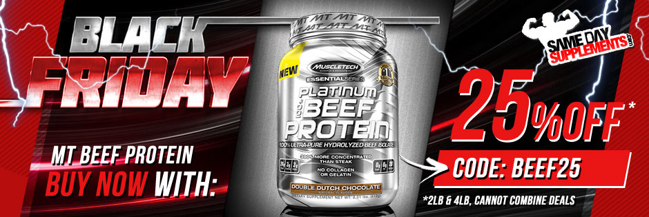 MUSCLETECH BEEF PROTEIN BANNER