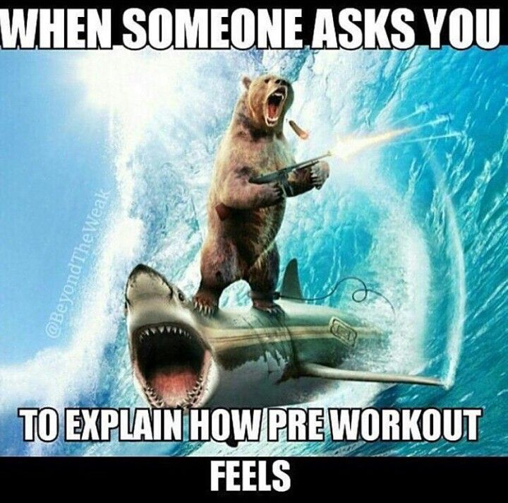 Pre workout feeling