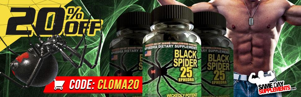 black spider fat burner
