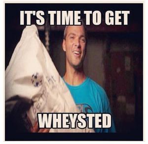 whey protein meme