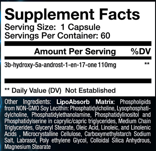 Sup3r 1 Supplement Facts