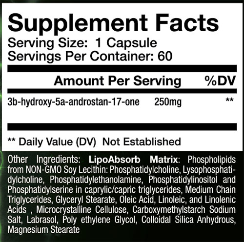 Sup3r EPI Supplement Facts