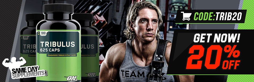 optimum tribulus 20% off