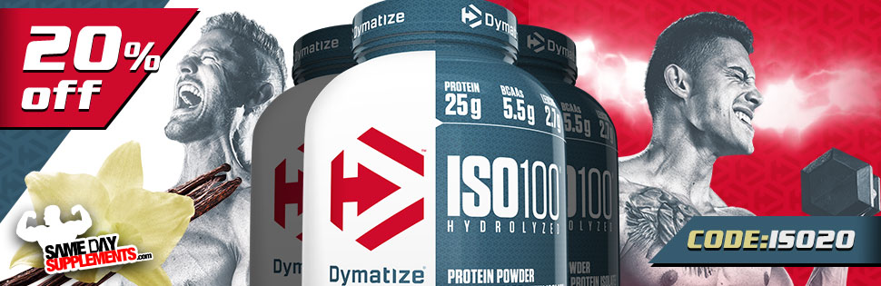 DYMATIZE ISO 100 DEAL