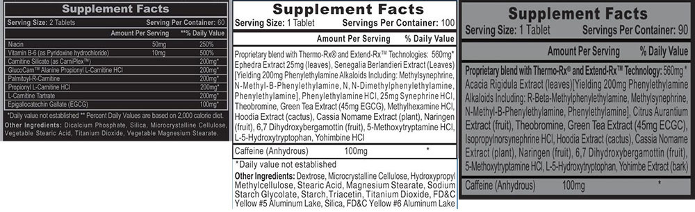 Lipodrene Extended Release Weight Loss Stack