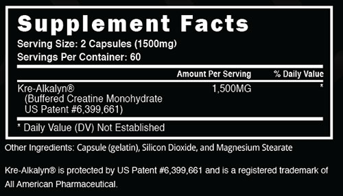 Steel ATP Fusion Supplement Facts