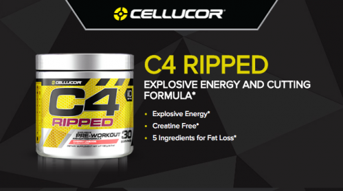 C4 Ripped By Cellucor Pre Workout Review - Supplement Reviews Blog