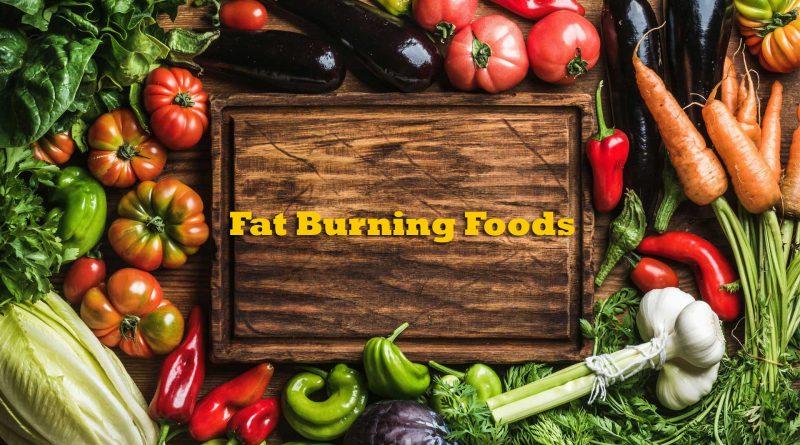 Fat burning Foods banner