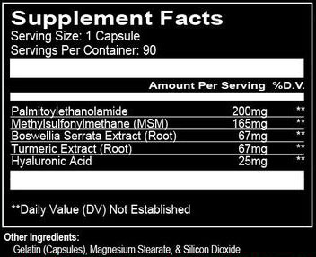 Run Everything Labs AMF Supplement Facts