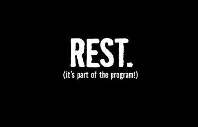 rest days banner