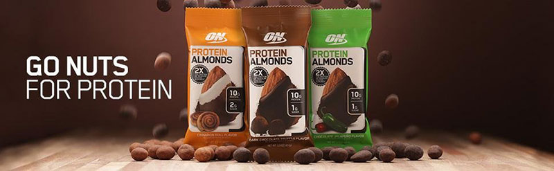 Protein in Almonds Banner