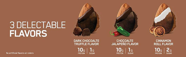 Protein Almonds Flavors