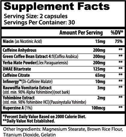Warning Supplement Facts
