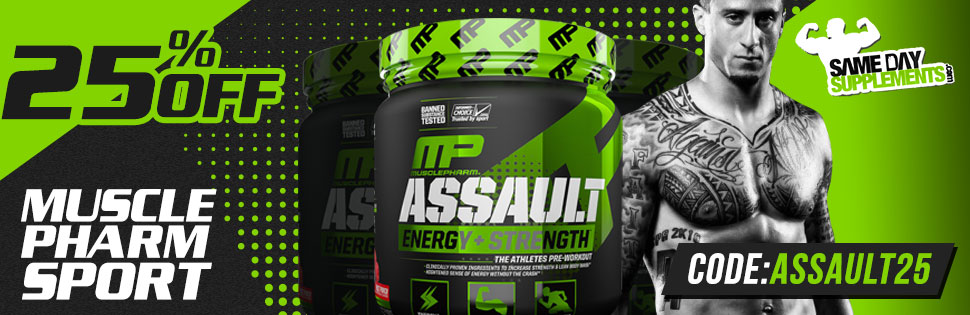 ASSAULT SPORT 25% OFF DEAL