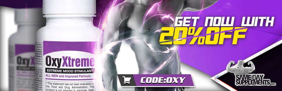 oxy xtreme Deal banner