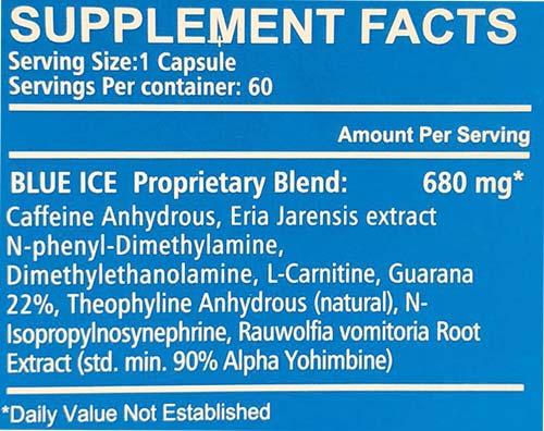 blue ice diet pill