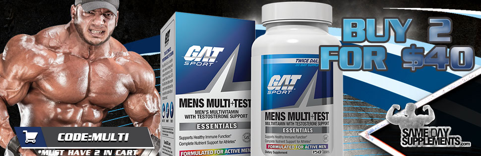 GAT MENS MULTI TEST DEAL