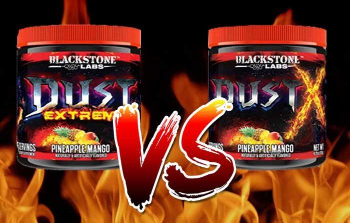 Dust Extreme vs Dust X banner