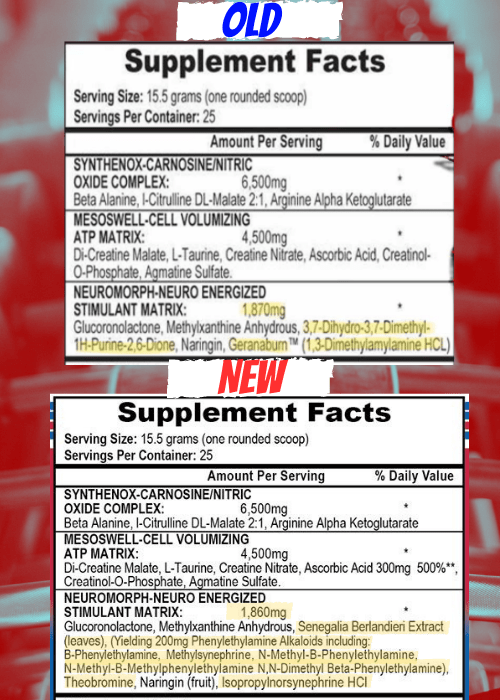 Mesomorph label