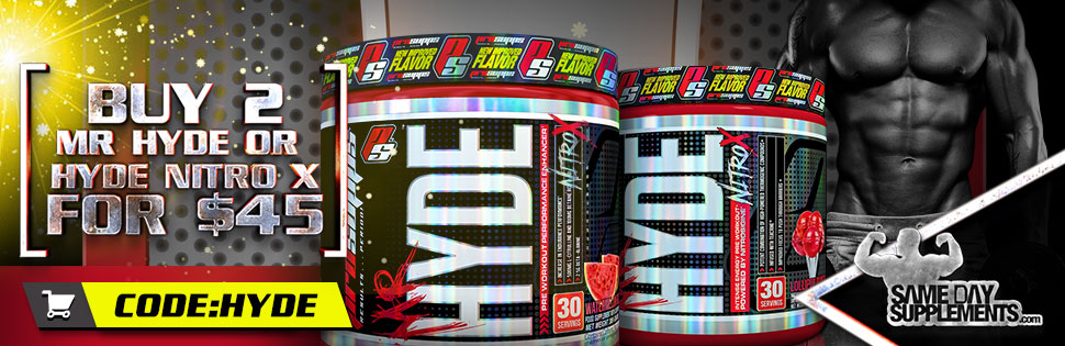 MR HYDE PRE WORKOUT DEAL 2018