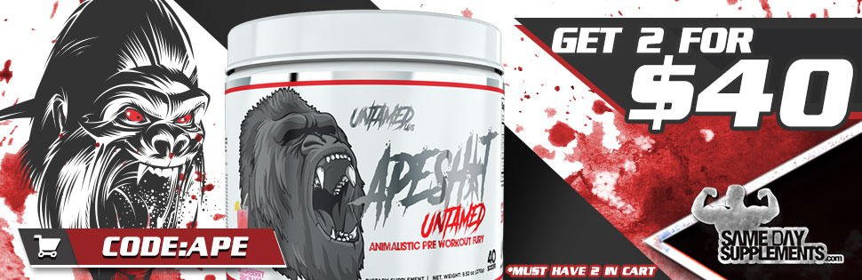 ape shit pre workout Deal banner