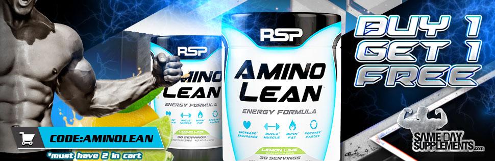 rsp aminolean Deal banner