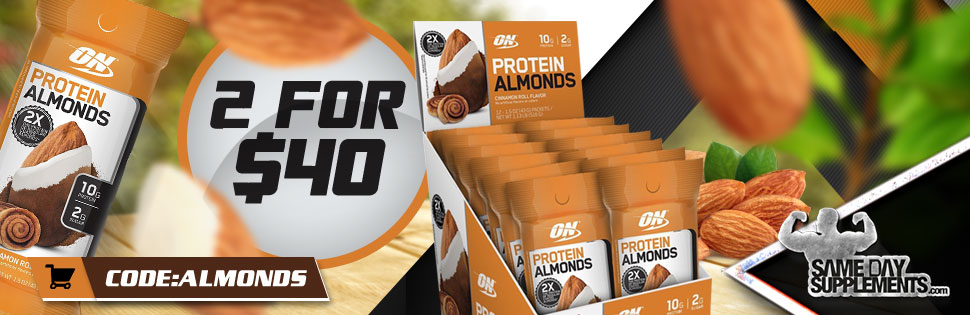 protein almonds Deal banner