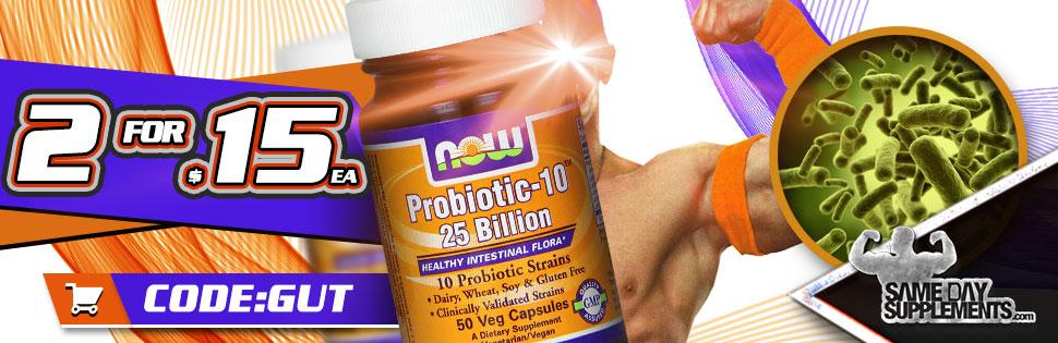 probiotics Deal banner