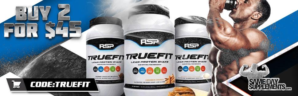 rsp truefit protein Deal banner